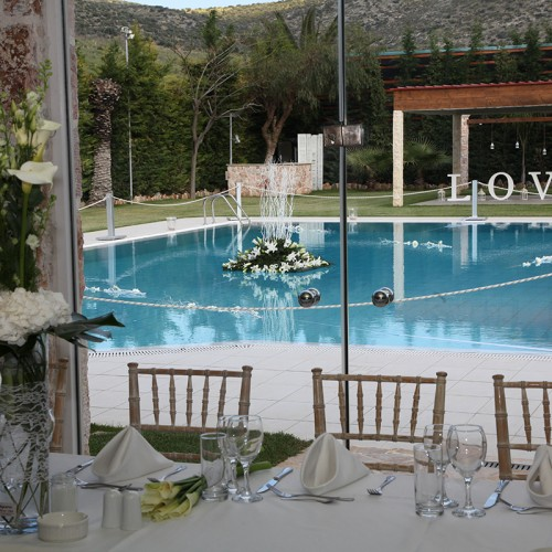 Wedding venues with hall