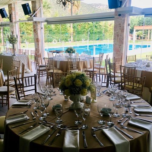 Hall for weddings and baptisms